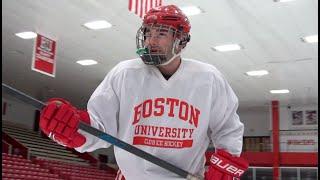 Watch Me Play Hockey | ARLIN MOORE ft. Boston University Red Pups (BU Vlogmas Day 12)