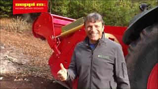 SEPPI M. - SUPERSOIL 2018 - forestry tiller - working in wood
