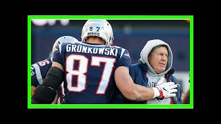 Rob Gronkowski is working with Bill Belichick and the Patriots to change his contract