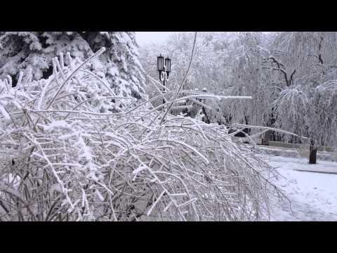 Заснеженный Пятигорск. 2012