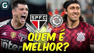 São Paulo e Corinthians POSIÇÃO POR POSIÇÃO   Quem é melhor? (12/04/19)