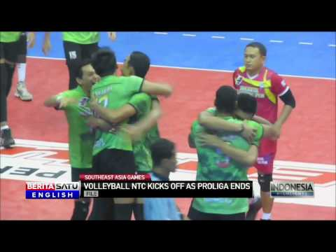 Indonesian Volleyball Teams Prepares to Train for Southeast Asia Games