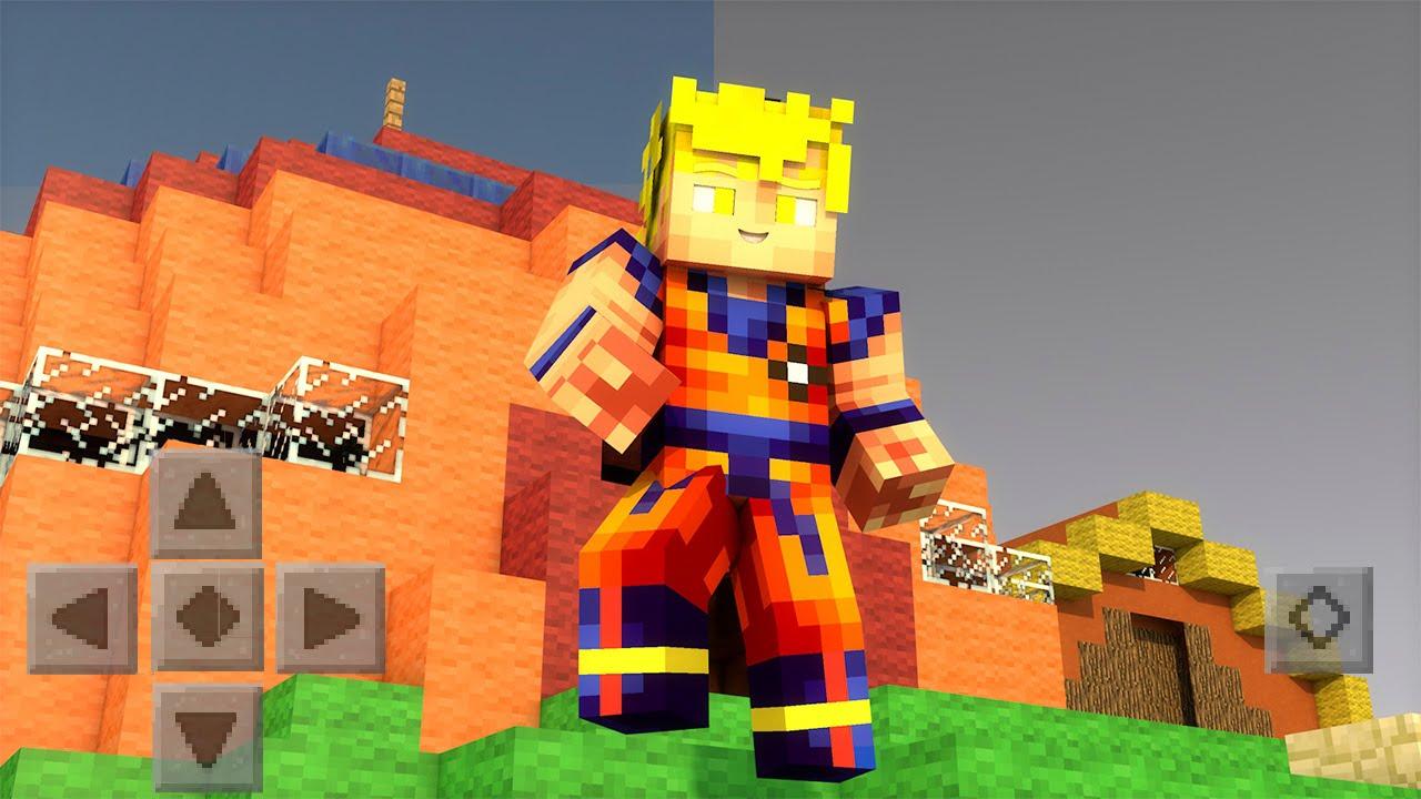 Minecraft Spielen Deutsch Skin Para Minecraft Pe De Dragon Ball Z - Skins para minecraft pocket edition de goku