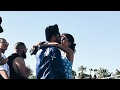 The Weeknd & Selena Kissing at Coachella -