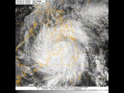 Typhoon Bopha [Pablo] - Update 10 (December 5, 2012)