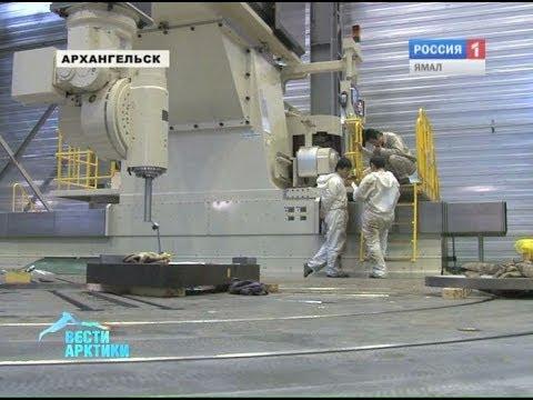 «Красная кузница» монтирует самый большой в России токарно-фрезерный станок