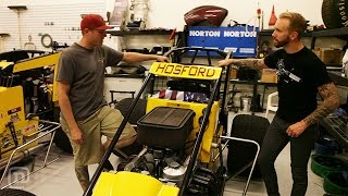 Is This The Ultimate DIY Sprint Car Shop? Garage Tours w/ Chris Forsberg