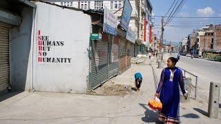 Walking in Kathmandu (Nepal)