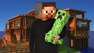 COME  ADDOMESTICARE UN CREEPER IN MINECRAFT VANILLA  - COME AVERE UN CREEPER DOMESTICO ( NO MOD )