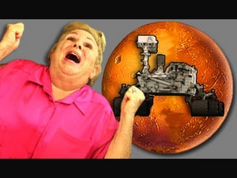 ELDERS REACT TO MARS LANDING