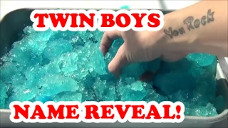 Epic Twin Boys NAME REVEAL!!