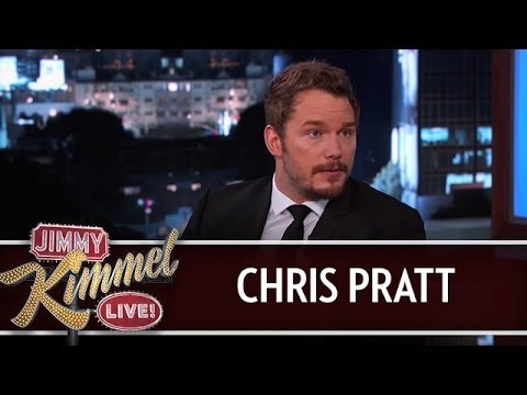 Chris Pratt on Jimmy Kimmel Live PART 2