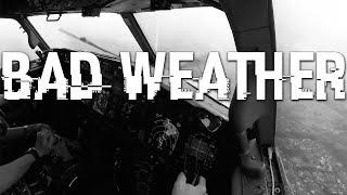 FERRY FLIGHT + BAD WEATHER