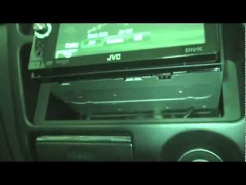 Install Double Din Head Unit In Single Din Spot Holden Jackaroo JVC KW-AVX746
