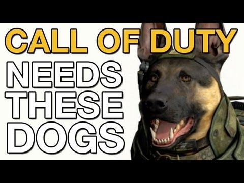 Call of Duty Ghosts NEEDS THESE DOGS (VideoGamer.com)