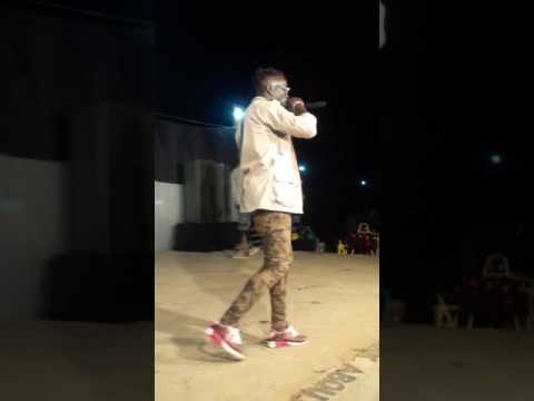 Gbaraspoken performing ASHANTI with Jerry M.I.A Irapu at Pyem Myel Gulu