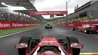 F1 2016   Avusturya Yağmur Altında İlk Tur   Xbox One
