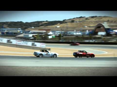 2016 MX-5 Global Cup Race Cars at Mazda Raceway Laguna Seca