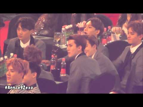 150122 51 Exo Baekhyun Suho Chen Kai  Sma Artists Seat Super Junior Donghae Eunhyuk 受賞 Speech video