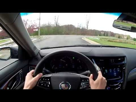 2014 Cadillac CTS AWD 2.0T Luxury - WINDING ROAD POV Test Drive
