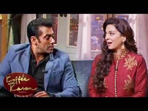 Salman Khan IGNORES Juhi Chawla Koffee With Karan Season 4