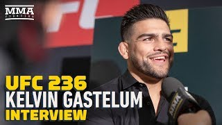 UFC 236: Kelvin Gastelum Says He Won't 'Play Into' Israel Adesanya's Mind Games - MMA Fighting