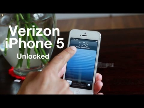 Verizon iPhone 5 GSM Unlocked - works with AT&T. etc.