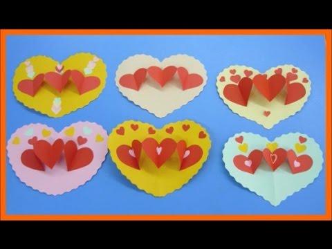 Поделки из бумаги к святому валентина