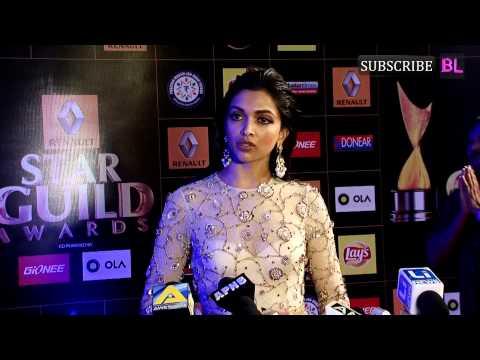 Red Carpet | Star Guild Award 2015 | Deepika Padukone
