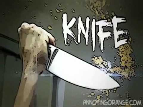 Annoying Orange Knife Theme Song Attack Frankenfruit ::...