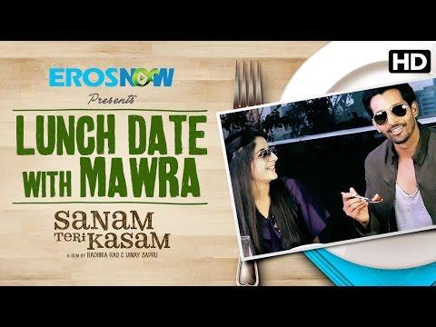 Lunch Date With Mawra Hocane! Sanam Teri Kasam