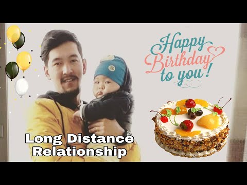 Birthday Wishes to My Husband || Long Distance Relationship || Creative Idea || Merry Christmas