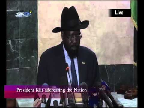 Speech of President Salva Kiir to the People of South Sudan on November 18, 2015