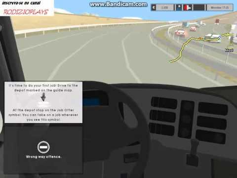 Euro Truck Simulator 2 - Sou Um Péssimo Motorista :  video