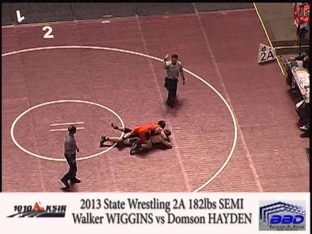 Garret Walker Semi Final