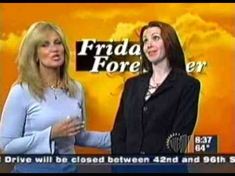 Vickie Smith Friday Forecaster on WPIX!