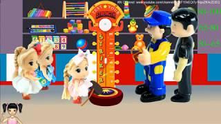 ChiChi ToysReview TV - Trò Chơi bé đi chơi công viên vui nhộn, trò chơi đấm bóc
