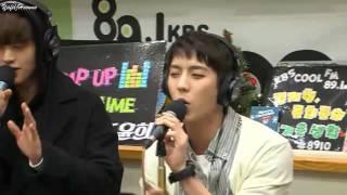 [BTOB] How Rap Line sing Way Back Home ft Sungjae