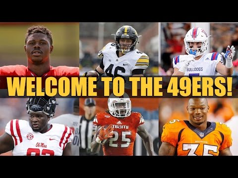 Download the Ronbo Sports app to join the show Starting at Apr. 29, 7:00 PM PDT Solomon Thomas, Reuben Foster, Ahkello Witherspoon, C.J. Beathard, Joe Williams, George Kittle, Trent Taylor,...