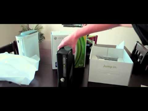 Xbox 360 4GB Slim Console (Unboxing)