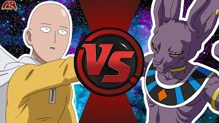 SAITAMA vs BEERUS! (One Punch Man vs Dragon Ball Super) Cartoon Fight Club Bonus Episode 7