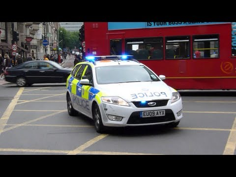 British Transport Police Ford Mondeo Estate London Responding