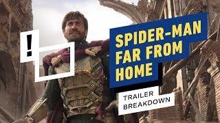 Spider-Man: Far From Home Trailer Breakdown - EASTER EGGS