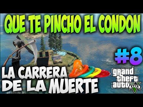 GTA 5 CARRERAS   LA CARRERA DE LA MUERTE #8 QUE TE PINCHO EL CONDON - CARRERAS GTA V   XxStratusXx