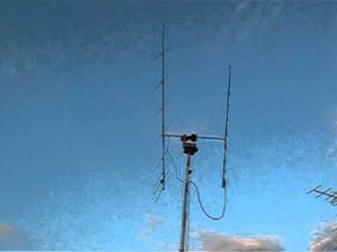 test home made satellite system  on vhf-uhf bands