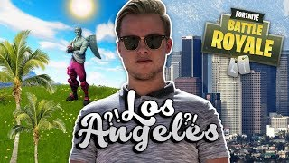 FORTNITE SPELEN IN LOS ANGELES!! - Fortnite Battle Royale (Nederlands)
