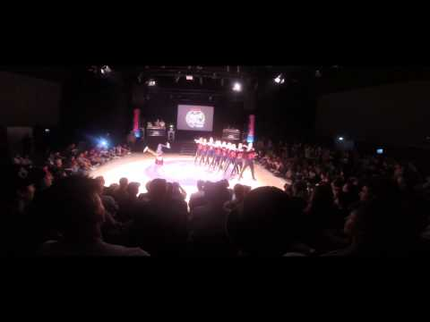 THE SAXONZ - BATTLE OF THE YEAR GERMANY 2014 SHOW