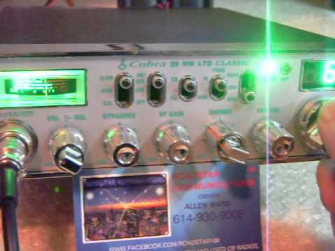 cobra 29 ltd NIGHT WATCH,CB RADIO, WITH RFX-75 FOR RADIO