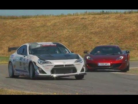 New Toyota GT86 TURBO vs McLaren MP4-12C