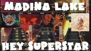 Madina Lake - Hey Superstar - Guitar Hero Warriors of Rock DLC Expert Full Band (April 12th, 2011)